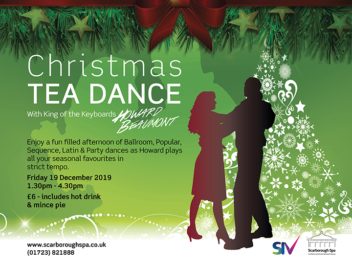 Christmas Tea Dance With Howard Beaumont Scarborough Spa